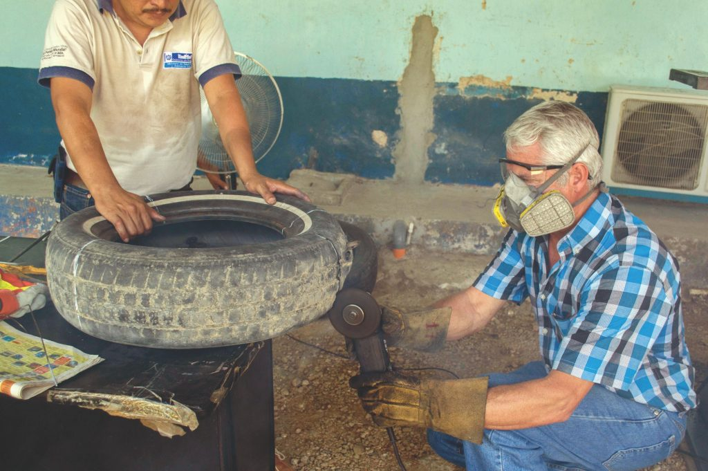 Ovillanta being made in Guatemala.