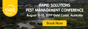 Rapid Solutions Pest Management Conference 2017 @ RACV Royal Pines