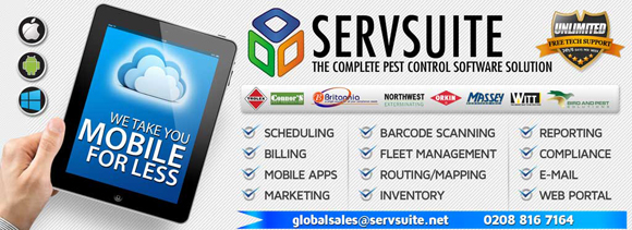 ServicePro ServSuite Enterprise pest control software