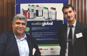 Őzgűr Ateş Managing Director, Bioglobal Turkey and the Spanish representative Migual Dolz Algar