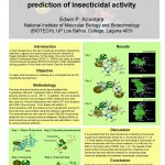 Implementation of Structure-based pharmacophore modelling for <em>in silico</em> prediction of insecticidal activity