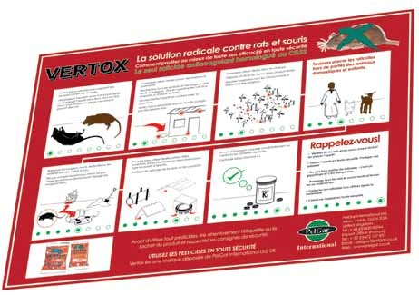 PelGar has produced a pictorial guide about rodenticide use for French speaking Africa