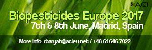Biopesticides Europe 2017