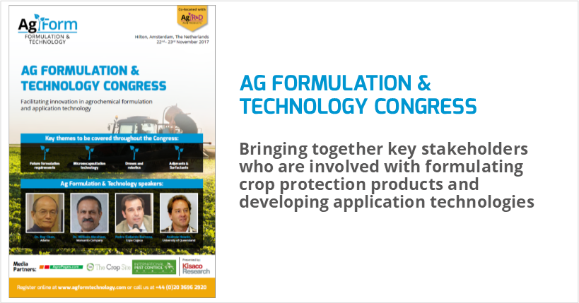 Ag Formulation and Technology Congress @ Hilton Amsterdam