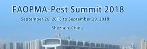 FAOPMA-PEST SUMMIT 2018 @ Shenzhen Convention & Exhibition Center