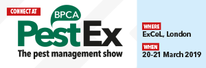PestEx 2019 @ ExCeL Exhibition Centre, London