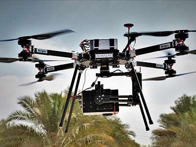 Hyperspectral drones the main attraction