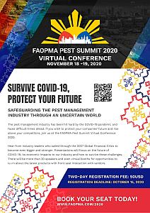 FAOPMA Pest Summit Virtual Conference 2020