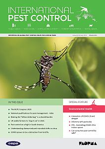 International Pest Control – January/February 2021 – Vol 63, Nr.1