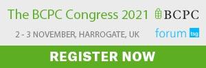The BCPC Congress 2021 – London, UK